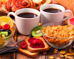 Le coin Petit-déjeuner